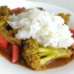 Curry z indyka i brokula