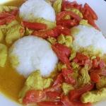 Indyk z pastą curry