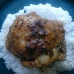 Paprykowe udka z kurczaka...