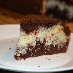 Placek czekoladowo - koko...