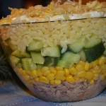 Makaronowa salatka z tunc...
