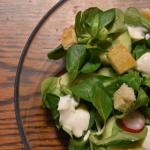 Lekka salatka z roszponka...