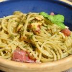 Spaghetti z pesto bazylio...