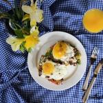Grzanka z jajkiem sadzony...