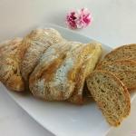 Ubijany chleb orkiszowy