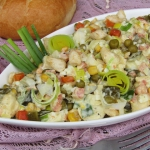 Salatka warzywna z kurcza...