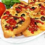 Pizzerinki z pieczarkami,...