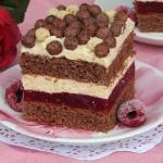 Ciasto Malinowy...