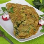 Wiosenny omlet z...