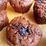 Czekoladowe muffinki z...