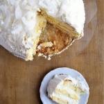 Tort cytrynowo-kokosowy...