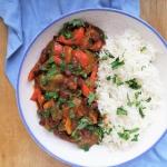 Warzywne curry z fasolą...