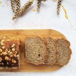 Pełnoziarnisty chleb z...