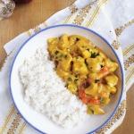 Kurczak w sosie curry /...