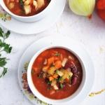 Zupa z czerwoną fasolą...