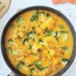 Kurczak w sosie curry z...