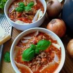Zupa lazania / Lasagne...