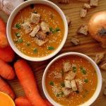 Zupa dyniowo-marchewkowa...