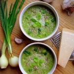 Kremowa zupa brokułowa...