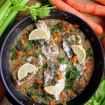 Ryba w sosie z warzywami...