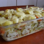 Zapiekanka z ziemniakami...