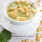 Zielona zupa krem z grosz...