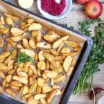 Pieczone ziemniaki ze...