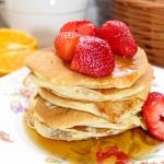 Pancakes na mleku i...
