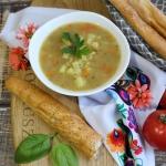 Szybka zupa grochowa z...