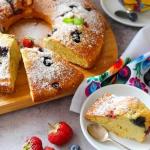 Szybkie ciasto z owocami...
