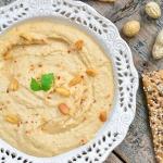 Hummus z maslem orzechowy...