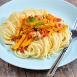 Spaghetti z dynia