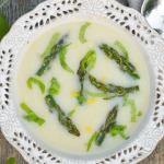 Zupa krem z bialych szpar...
