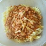 Mięsno-pomidorowy sos...