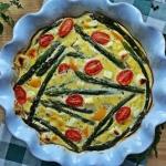 Pieczony omlet ze szparag...