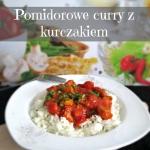 Pomidorowe curry z kurcza...
