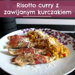 Risotto curry z kurczakie...