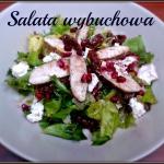 Salata z kurczakiem, gran...