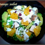 Orange salat -...