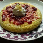 Omlet z migdalami