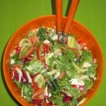 Salatka z feta i papryka