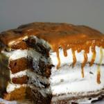 Tort dyniowo-smietanowy