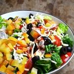 Szybka salatka na kolacje...