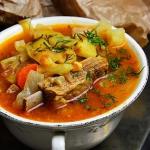 Zupa warzywna na zeberkac...