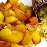 Smazone ziemniaki z cebul...