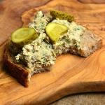 Pasta z makreli i sera