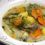Zupa z ogorkow malosolnyc...