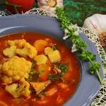 Wloska zupa kalafiorowa