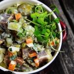 Salatka z wedzonym tunczy...