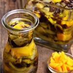 Śledzie z honey mango